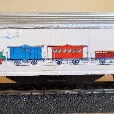 Trenes Escala: MÄRKLIN 4735.010 (97702). VAGON CERRADO SERIE LIMITADA CLUB MÄRKLIN AÑO 1997. Lote 91399415