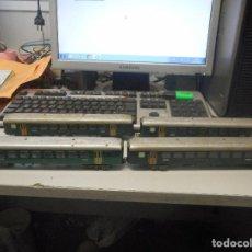 Trenes Escala: LOTE 4 VAGONES VAGON TREN MARKLIN HO SBB CFF. Lote 92873085
