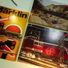Trenes Escala: GRAN LOTE DE 3 CATÁLOGOS DE MARKLIN - AÑOS 1974, 1993/94 Y 1995/96 -888 PP. EN TOTAL - BUEN ESTADO -. Lote 94311210