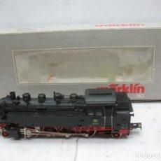 Trenes Escala: MARKLIN REF: 3696 - LOCOMOTORA DE VAPOR 86740 DE LA DB CORRIENTE ALTERNA DIGITAL - ESCALA H0. Lote 94325554