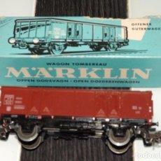 Trenes Escala: MARKLIN: VAGÓN DE MERCANCÍAS 4639. Lote 94598231