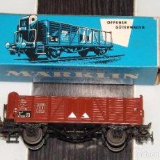 Trenes Escala: MARKLIN: VAGÓN DE MERCANCÍAS 4601. Lote 94598475