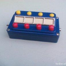 Trenes Escala: MÄRKLIN REF. 7210 ESCALA H0 . 2 PUPITRE, PANEL DE CONTROL. CUADRO DE COMANDOS, MANDO.. Lote 95665507