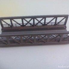 Trenes Escala: MÄRKLIN REF. 7262- ESCALA H0 PUENTE DE ARMADURA PARA TREN. TRUSS BRIDGE. GITTERBRÜCKE. Lote 95672847