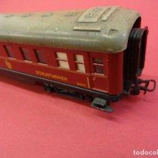Trenes Escala: MARKLIN. PRECIOSO VAGÓN COCHE-CAMA REF: 346/3. Lote 100357051