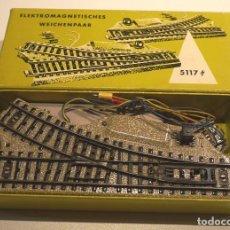 Trenes Escala: MARKLIN DESVÍOS REF. 5117. Lote 101201967