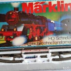 TREN MARKLIN HO. modelo 3185 CAJA DE INICIACION. Tren expreso con desvíos. Circuito S+E. CCAVENDE