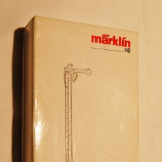 Trenes Escala: SEÑAL DE LA MARCA MARKLIN ESCALA H0.NUEVA Y EN SU CAJITA ORIGINAL.. Lote 103429803