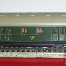 Trenes Escala: MARKLIN VAGÓN REF. 4013 D-ZUG-POSTWAGEN 346/5 5620 HAN POST 4. H0/AC 1953/1955 .SIN ÓXIDO,SIN CAJA. Lote 105009831