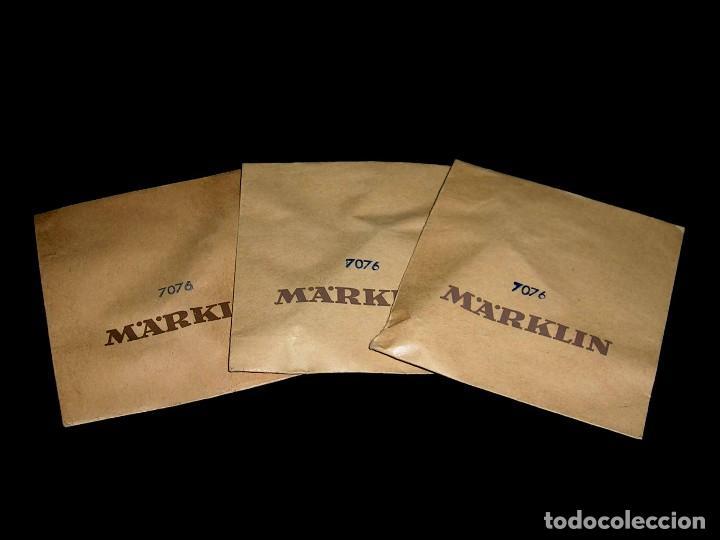 3 X PATÍN REF. 7076, MÄRKLIN 1/87 H0, SOBRES ORIGINALES SIN ABRIR, AÑOS 50. (Juguetes - Trenes a Escala - Marklin H0)