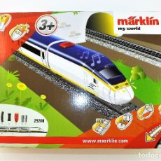 Trenes Escala: MÄRKLIN MY WORLD. SET COMPLETO EUROSTAR 29208. Lote 109352343