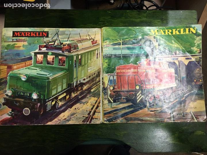 MARKLIN CATALOGOS (Juguetes - Trenes a Escala - Marklin H0)
