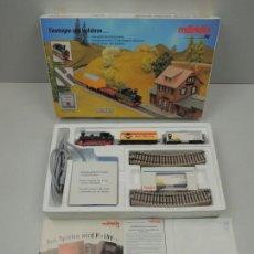 Trenes Escala: IMPRESIONARTE CAJA DE TREN MARKLIN 82988 HO EXCELENTE PIEZA DE COLECCIÓN . Lote 112836767