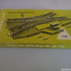 Trenes Escala: DESVIO ELÉCTRICO MARKLIN 5128. Lote 113144166