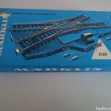 Trenes Escala: DESVÍO ELÉCTRICO MARKLIN 5128. Lote 113145056