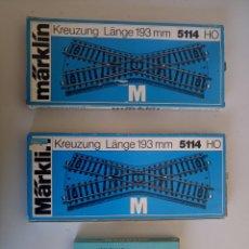 Trenes Escala: LOTES DE CRUCES MARKLIN 5114 Y 5211 VÍA M. Lote 113160592