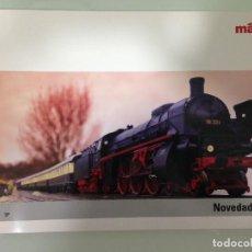 Trenes Escala: TRENES, CATALOGO MARKLÍN 2008, EN CASTELLANO, ESCLUSIV, MARKLÍN H0,MÄRKLÍN Z, MÄRKLÍN 1,CLUB INSIDER. Lote 113828747