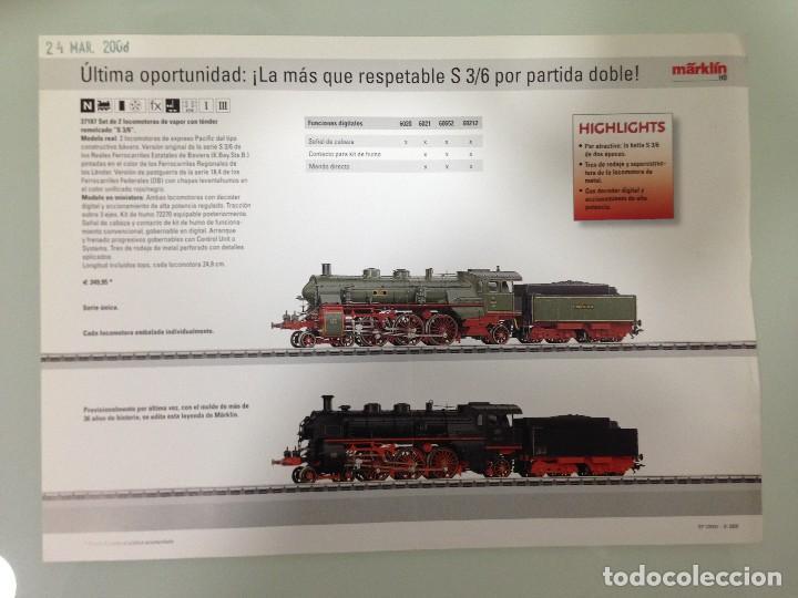 Trenes Escala: TRENES, CATALOGO MARKLÍN 2008, EN CASTELLANO, ESCLUSIV, MARKLÍN H0,MÄRKLÍN Z, MÄRKLÍN 1,CLUB INSIDER - Foto 3 - 113828747