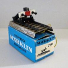 Trenes Escala: MARKLIN FIN DE VIA 7191. Lote 126496480