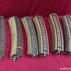 Trenes Escala: LOTE DE 30 CURVAS TREN MARCKLIN H0. Lote 114791551