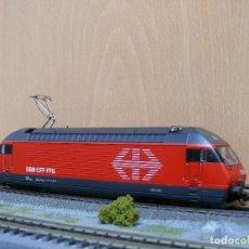 Trenes Escala: MARKLIN H0 DIGITAL LOCOMOTORA ELECTRICA SERIE 460 (RE 4/4) DE LOS SBB , REFERENCIA 3760.2 . Lote 115281795