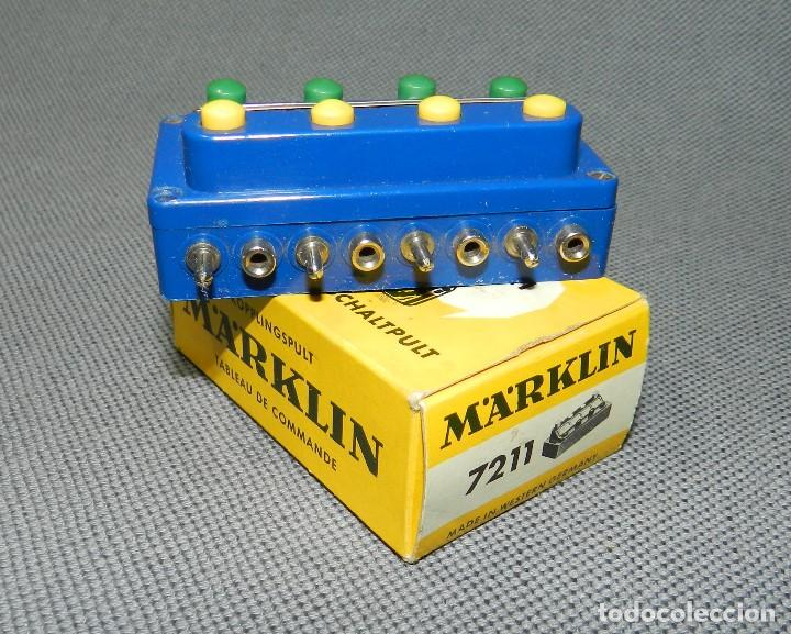 MARKLIN PUPITRE MANDO REF. 7211 (Juguetes - Trenes a Escala - Marklin H0)