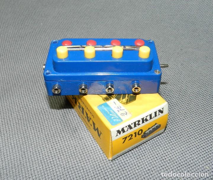 MARKLIN PUPITRE MANDO REF. 7210 (Juguetes - Trenes a Escala - Marklin H0)