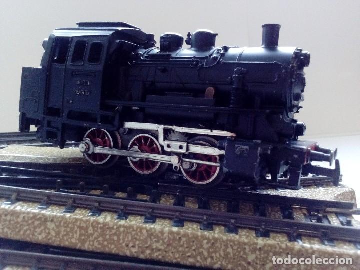 Trenes Escala: LOTE MARKLIN H0,LOCOMOTORA,VAGON,VIAS,CRUCES,DESVIACIONES,NO IBERTREN,PAYA,TREN ELECTRICO. - Foto 2 - 118043455