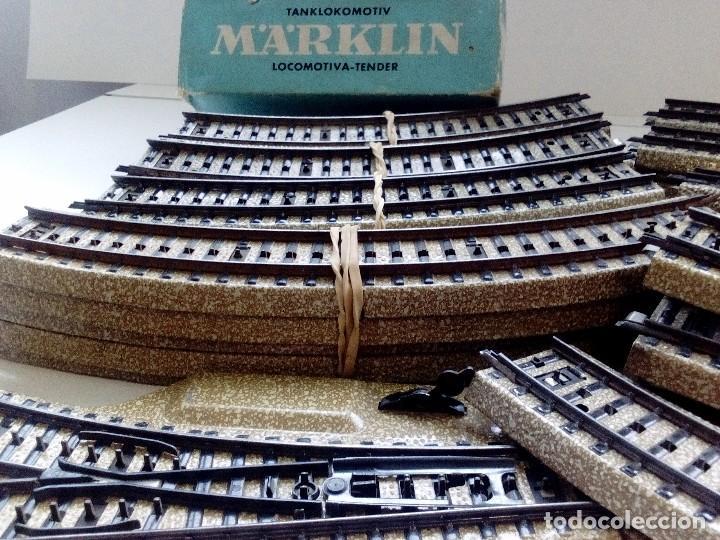 Trenes Escala: LOTE MARKLIN H0,LOCOMOTORA,VAGON,VIAS,CRUCES,DESVIACIONES,NO IBERTREN,PAYA,TREN ELECTRICO. - Foto 5 - 118043455