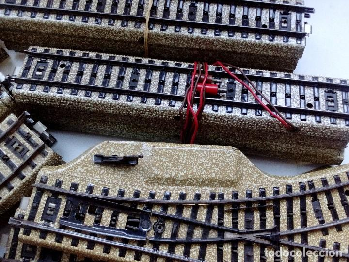 Trenes Escala: LOTE MARKLIN H0,LOCOMOTORA,VAGON,VIAS,CRUCES,DESVIACIONES,NO IBERTREN,PAYA,TREN ELECTRICO. - Foto 6 - 118043455