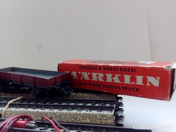 Trenes Escala: LOTE MARKLIN H0,LOCOMOTORA,VAGON,VIAS,CRUCES,DESVIACIONES,NO IBERTREN,PAYA,TREN ELECTRICO. - Foto 10 - 118043455