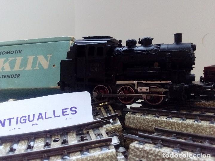 Trenes Escala: LOTE MARKLIN H0,LOCOMOTORA,VAGON,VIAS,CRUCES,DESVIACIONES,NO IBERTREN,PAYA,TREN ELECTRICO. - Foto 11 - 118043455