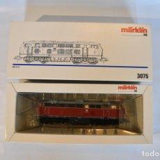 Trenes Escala: MÄRKLIN 3075.4 LOCOMOTORA DIESEL V216 DE LA DB ESCALA H0 , COMO NUEVA, CORRIENTE ALTERNA. Lote 119288163