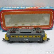Trenes Escala: MARKLIN REF: 3324 - LOCOMOTORA ELÉCTRICA 1139 DIGITALIZADA CORRIENTE ALTERNA - ESCALA H0. Lote 120199051