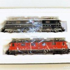 Trenes Escala: MARKLIN 37362 LOCOMOTORAS AE 6/6 DER SBB EDICIÓN ANIVERSARIO MFX SONIDO. Lote 120382275