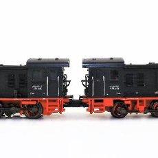 Trenes Escala: MARKLIN 37355 LOCOMOTORAS DIÉSEL DUAL BR V36 DIGITAL MFX . SONIDO (A ESTRENAR). Lote 120393703