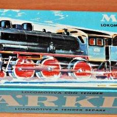 Trenes Escala: LOCOMOTORA DE VAPOR ANALÓGICA BR 38 1807 (P8) DE MARKLIN, REF. 3098. ESCALA HO. Lote 122305815