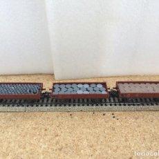 Trenes Escala: MARKLIN CONVOY MERCANCIAS BORDE BAJO H0 . Lote 125149495