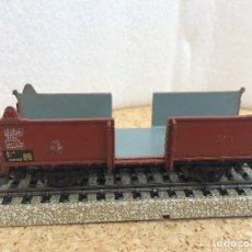Trenes Escala: MARKLIN VAGON MERCANCIAS METAL H0 - CON DEFECTOS. Lote 126371507