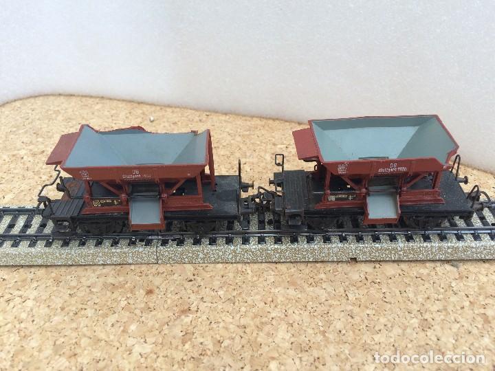Marklin 2 vagones tolvas H0 - con defectos, usado segunda mano