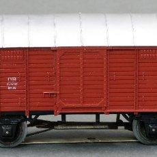 Trenes Escala: VAGÓN MERCANCÍAS CERRADO MARKLIN H0 . Lote 128442351