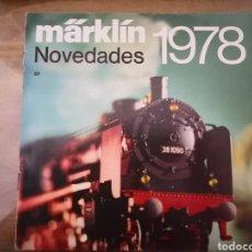 Trenes Escala: MARKLIN REVISTA. Lote 132393963