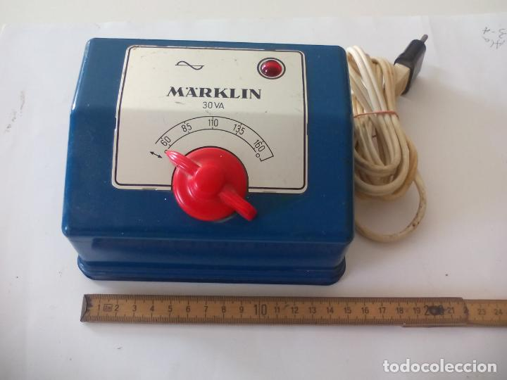 TRANSFORMADOR DE CORRIENTE MARKLIN REF. 6153 PARA TRENES H0 115 VOLTIOS (Juguetes - Trenes a Escala - Marklin H0)