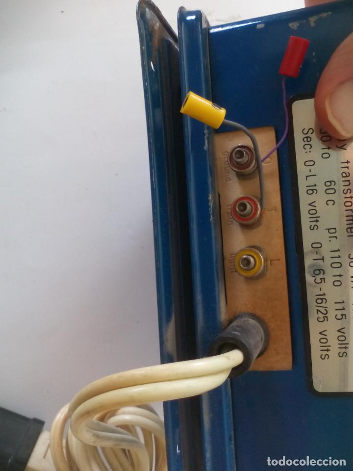 Trenes Escala: Transformador de corriente Marklin ref. 6153 Para trenes H0 115 Voltios - Foto 4 - 132639046