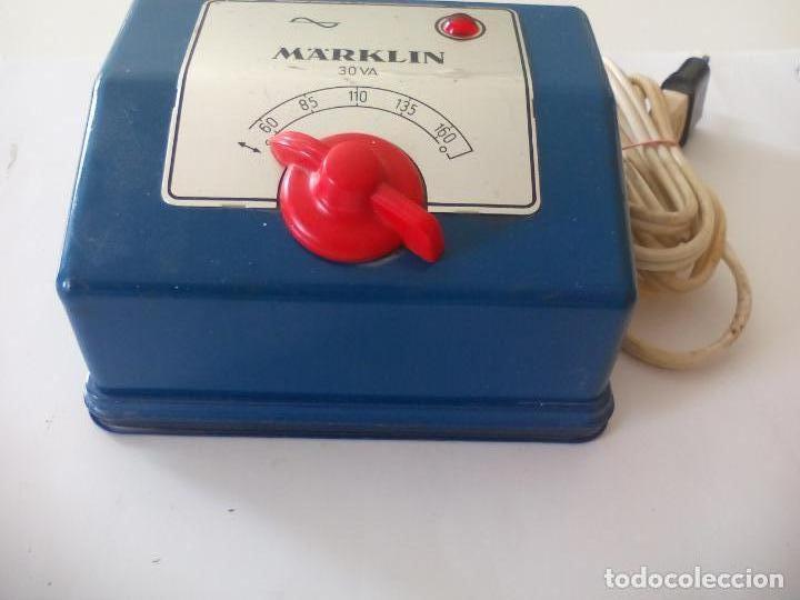 Trenes Escala: Transformador de corriente Marklin ref. 6153 Para trenes H0 115 Voltios - Foto 5 - 132639046
