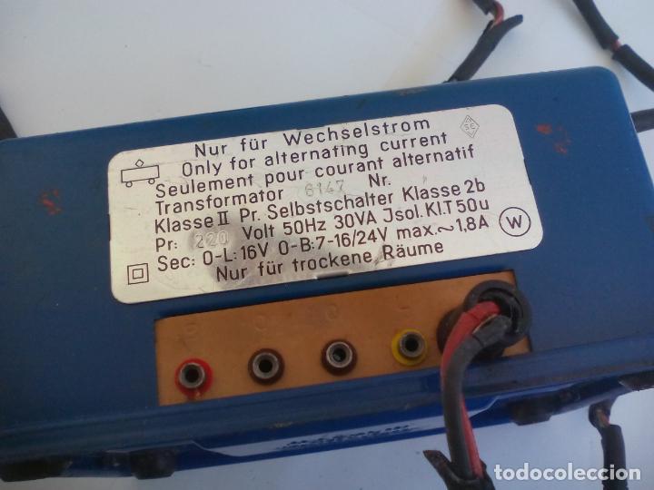 Trenes Escala: Transformador de corriente Marklin ref. 6147Para trenes H0 220 Voltios - Foto 4 - 132644282