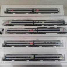 Trenes Escala: MÄRKLIN 37790 + 43420 + 43430 + 43440 SCNF TGV POS MFX DIGITAL SONIDO NUEVO OVP. Lote 132962190