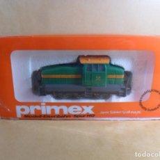 Trains Échelle: MARKLIN / PRIMEX H0 - 3189 - LOCOMOTORA DIESEL DE MANIOBRAS - CON LUZ - CAJA ORIGINAL. Lote 133059190