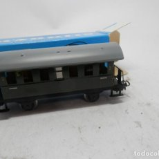 Trenes Escala: VAGÓN PASAJEROS 2 EJES METALICO ESCALA HO DE MARKLIN . Lote 134078018