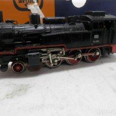 Trenes Escala: LOCOMOTORA VAPOR DE LA DB ESCALA HO DE MARKLIN . Lote 134082342